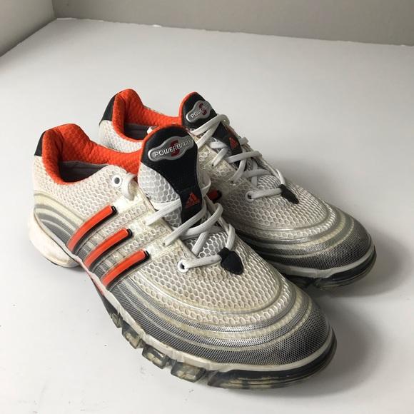 Men's adidas Powerband Sport Golf Shoes size 8